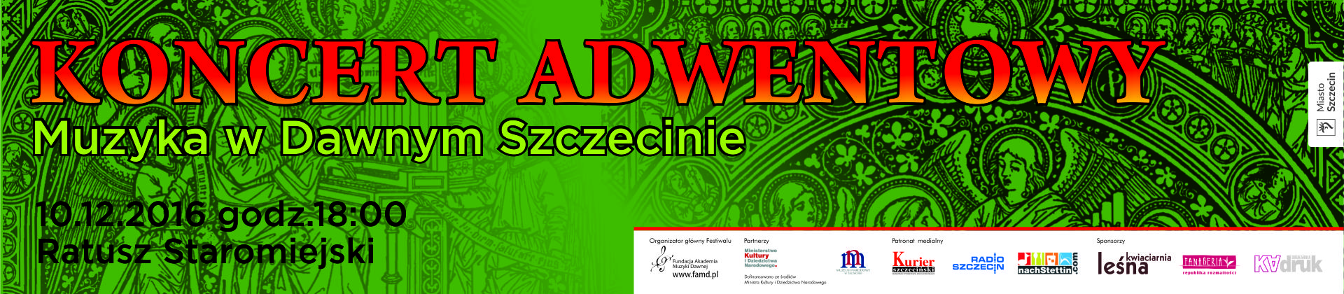 Banner koncertowy